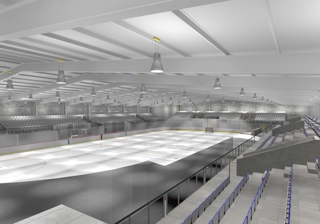 Leeds Ice Rink Interior 2