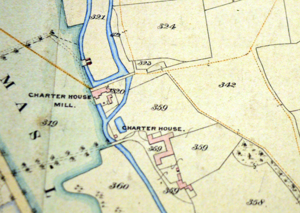 Charterhouse 1849 Plan (edited)