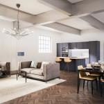 Second Floor Kitchen-Living Room Final 001