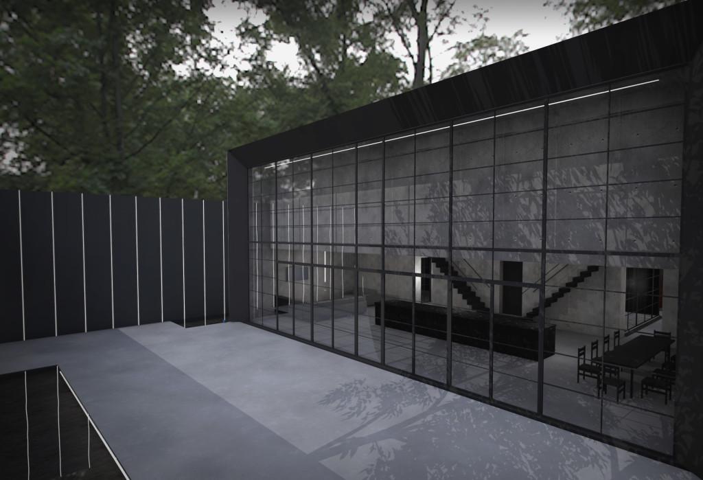 Ghost House Rear Courtyard 3